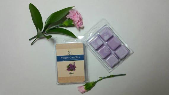 Lilac Wax Melt, Soy & Botanical Oil Candles