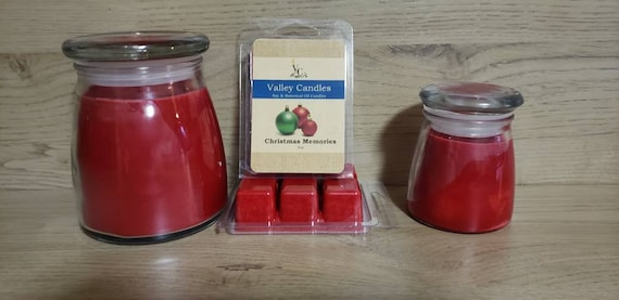 SALE Christmas Memories***SMALL JAR***, 25-hour, Soy Candle, reg 9.99