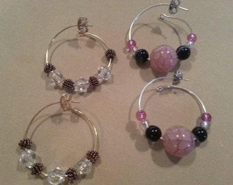 Ear wire earrings