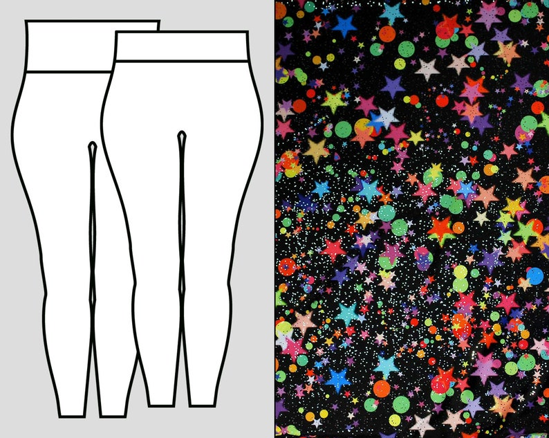 Starry Night Leggings image 0