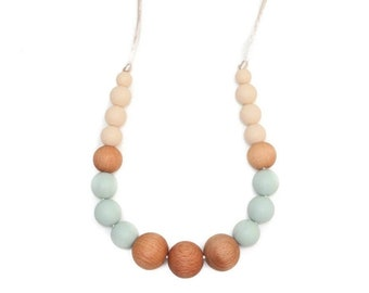 "Mommy & me ""Mystic"" teething necklace"