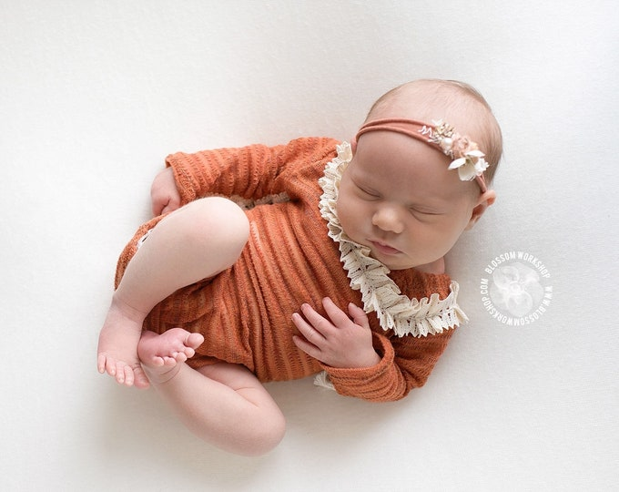 Featured listing image: Miss Pumpkin Romper