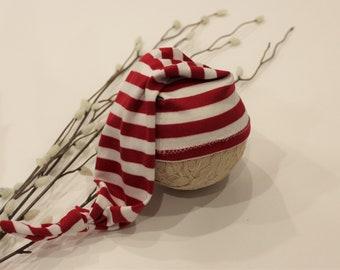 Candy Cane Sleepy Hat