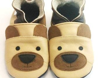 Tan Teddy Shoes