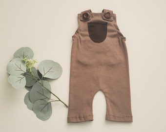 Teddy Brown Overalls