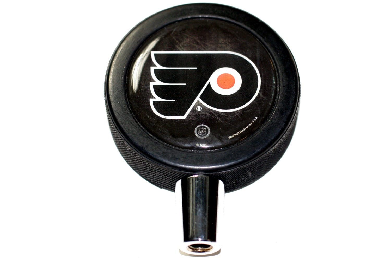 Philadelphia Flyers Basic Logo Hockey Nhl Puck Beer Tap Handle Elenco Scs185 Snap Circuits Sound Ebingers Place