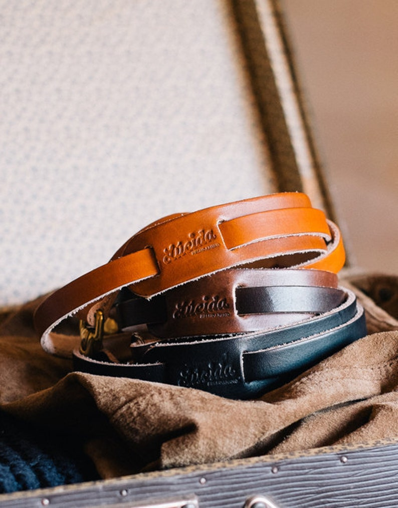 Classical Neck Protector belt made from leather  Leather image 0