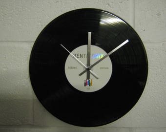 Upcycled Clock Etsy