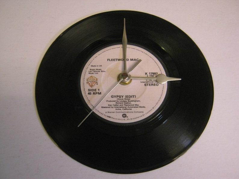 7 Vinyl Record Wall Clock Go Your Own Way Fleetwood Mac
