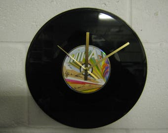 """Mika """"Life In Cartoon Motion"""" Special Unique 12"""" CD Record Wall Clock Gift/Present"""