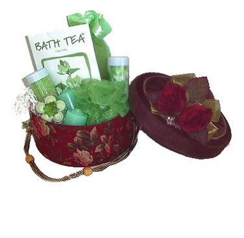 bath & body gift. Indulgence Gift Basket. Bath Caviar Bath image 0