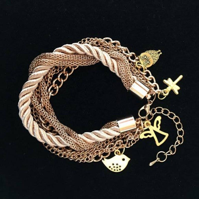 Bracelet Woman's Gift Bracelets for Women Gift Boxed image 0