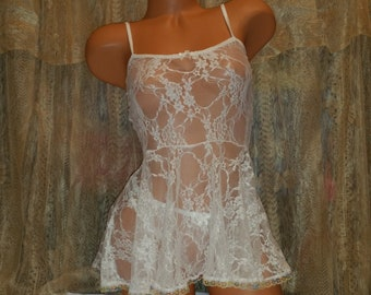 61ecee12b Baby doll sexy lingerie Thong sold separately XXS-5X