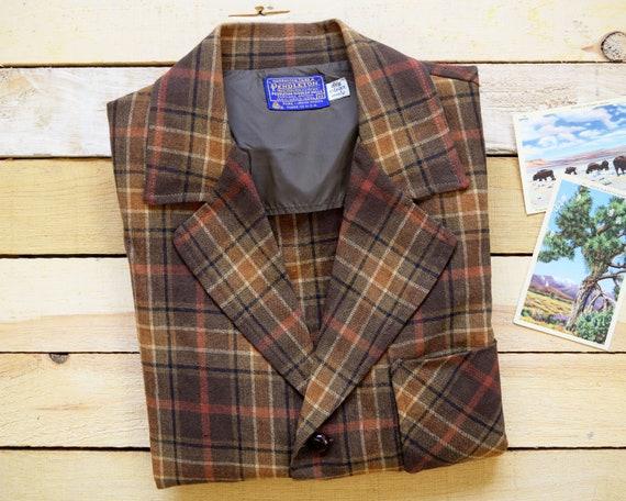 b75682d1ea PENDLETON Men s M Vintage 60s 70s Topster Jacket Forest