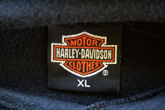 8264bcf32bd1e HARLEY-DAVIDSON Rules XL Black Sleeveless Hoodie Sweatshirt