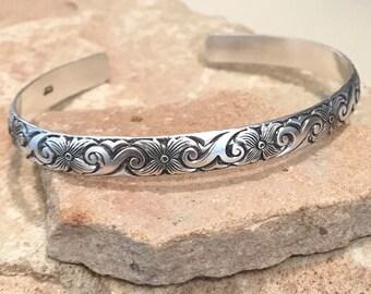 4245f0f7ae6 Sterling silver cuff bracelet