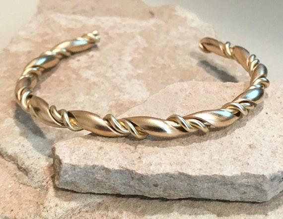 Brass cuff bracelet, twisted cuff bracelet, stackable brass bracelet, stackable cuff, twisted cuff, brass bracelet, gift for her, boho chic