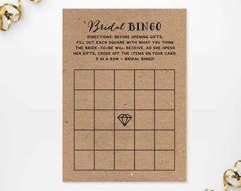 printable kraft texture bridal shower game cards printable rustic bridal shower bridal bingo game fun diy kraft bridal bingo shower games