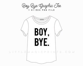 Boy Bye Clipart Etsy