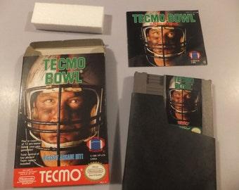 Tecmo Bowl Nintendo Video Game Bo Jackson Touchdown Custom Art