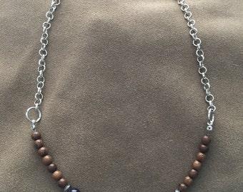 Handcrafted jewelry, Chakra necklace, seven chakra