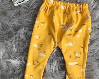 Baby leggings - Organic knit