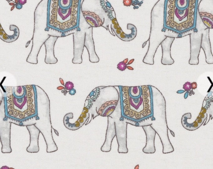 Fitted Crib Sheet - Fitted Pack n Play Sheet - Fitted Mini Crib Sheet - Elephant sheets