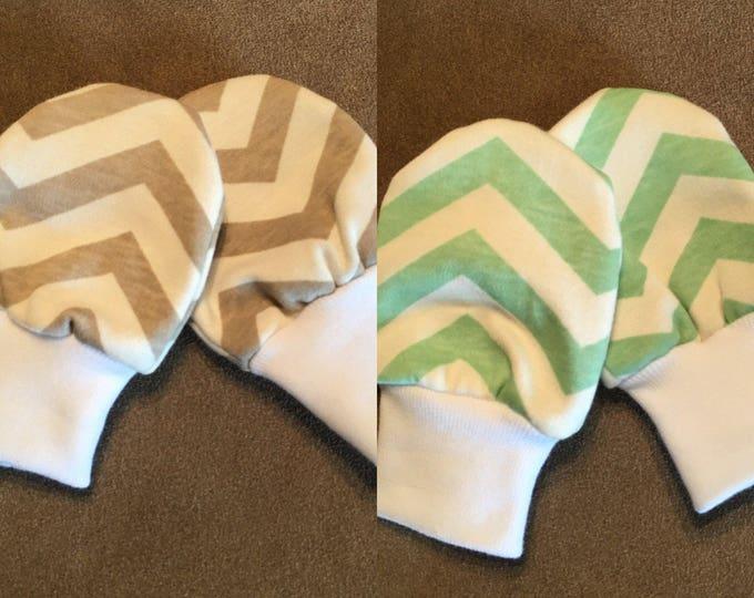 Baby Mittens - Organic baby mittens - Newborn scratch mittens - Baby Scratch Mittens