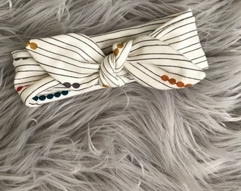 Baby headband |  Knotted headband  |  newborn headband