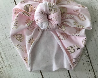 Knotted baby turban