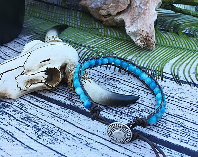 Handcrafted Jewelry, Double wrap bracelet