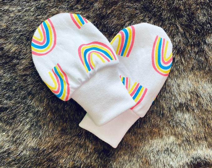 Baby Mittens - Newborn scratch mittens - Baby Scratch Mittens