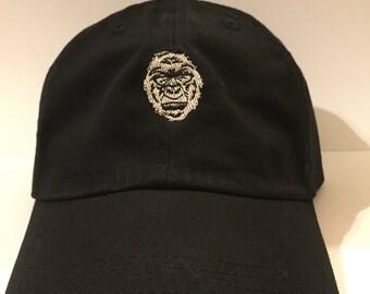 2e965d9755f Papa Hat Baseball Cap bestickt Harambe der gorilla