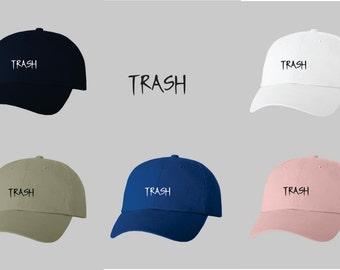 Image Of Black Trash Hat