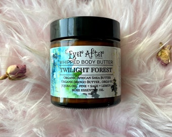 Twilight Forest Whipped Essential Oil Body Butter