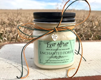 Enchanted Forest - 100% All Natural Soy Wax Candle