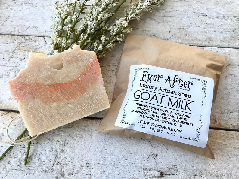 Goat Milk Soap  Luxury Artisan Soap image 0