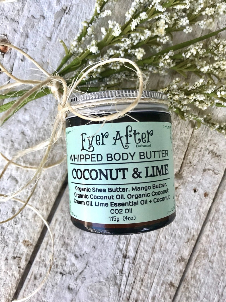 Coconut & Lime Whipped Body Butter image 0