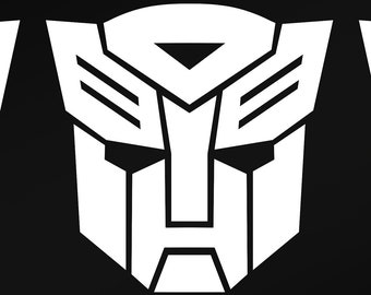 transformers logo etsy