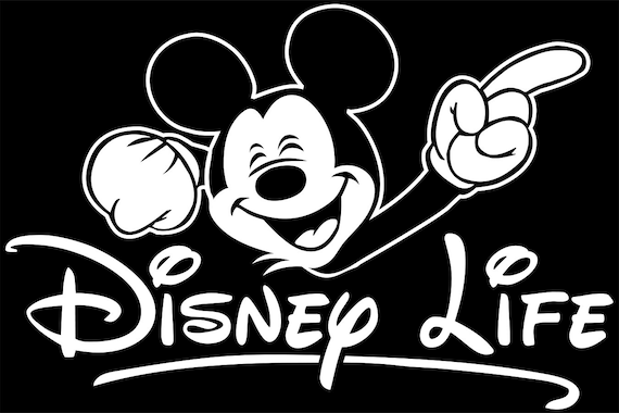 Disney Decal Disney Life Decal Mickey Decal Mickey Mouse Decal Mickey Sticker