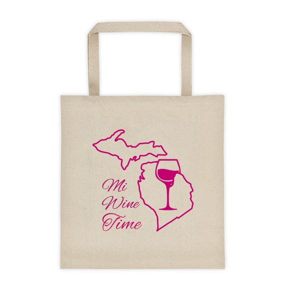 Michigan Wine Tote bag