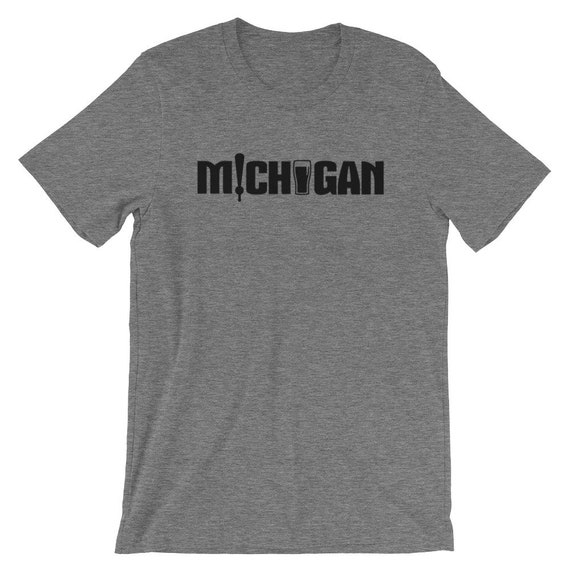 Michigan Beer Short-Sleeve Unisex T-Shirt