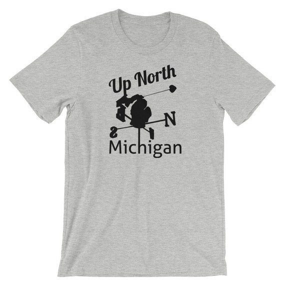 Michigan Up North Short-Sleeve Unisex T-Shirt