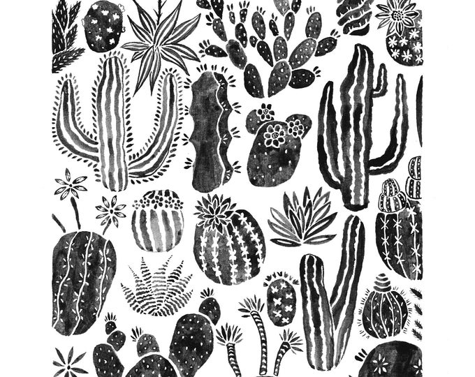 Featured listing image: Cacti Print