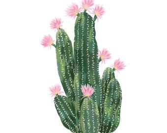 Torch Cactus Print
