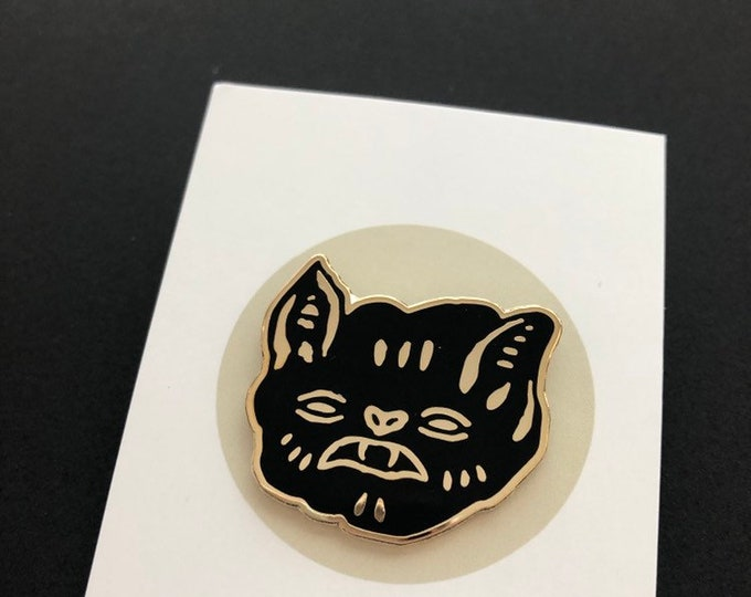 Featured listing image: Vampire Bat Hard Enamel Pin