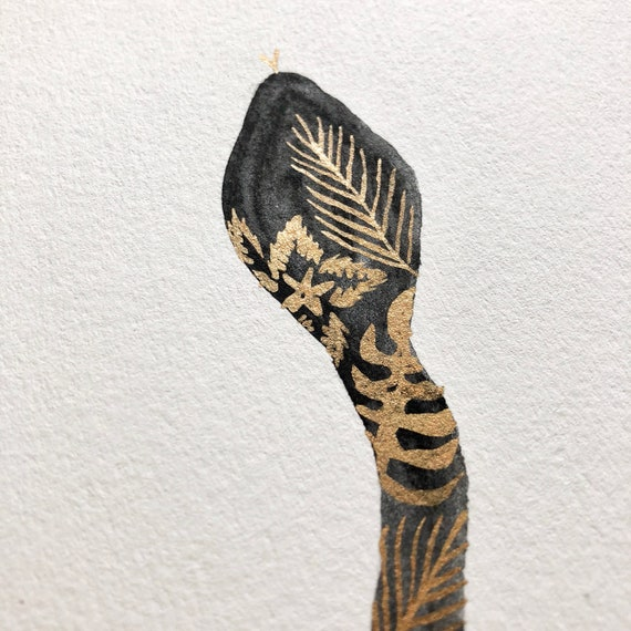 Bronze Tropical Snake