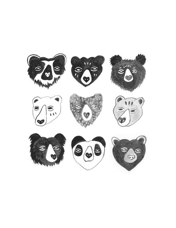 Bears Print