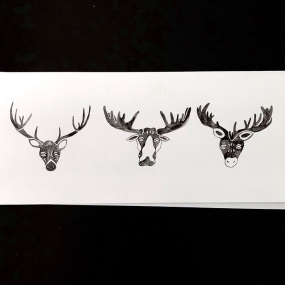 Antlered Painting