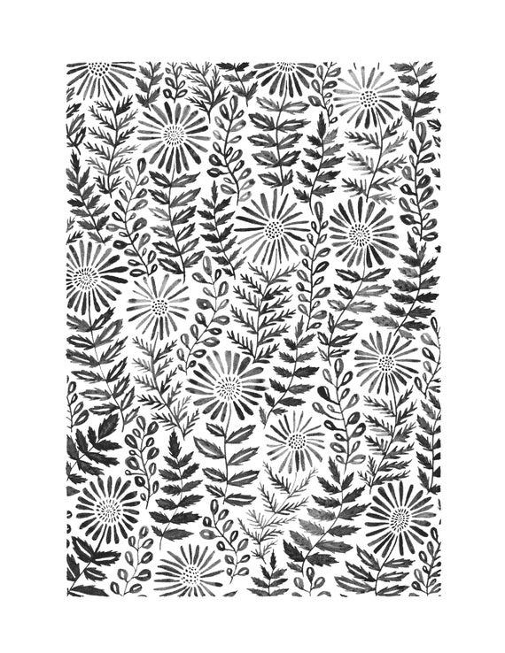 Daisies Print